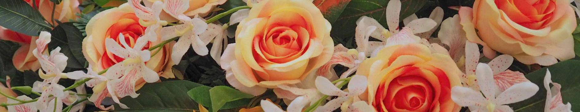 gerbes de fleurs pompes funèbres Riedisheim